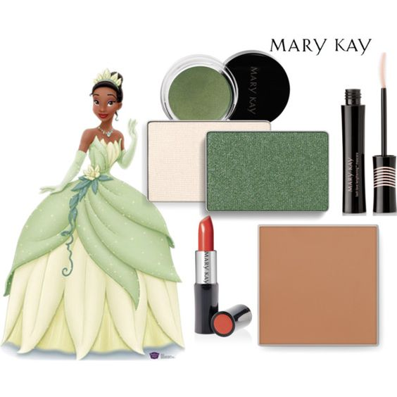 """Princess Tiana Makeup: """"Mary Kay Tiana"""" By Marykaybyanne On Polyvore If You Would"""