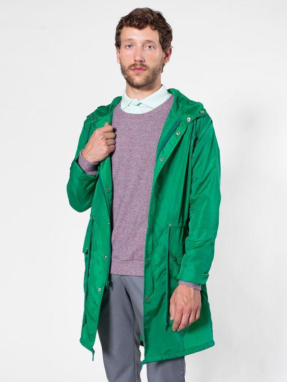 Nylon Taffeta Rain Parka | Winter Coats | Men&39s Outerwear