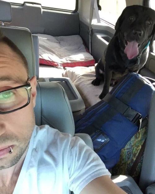 Via Eric: Home less than 24 hours and back on the road. Headed...