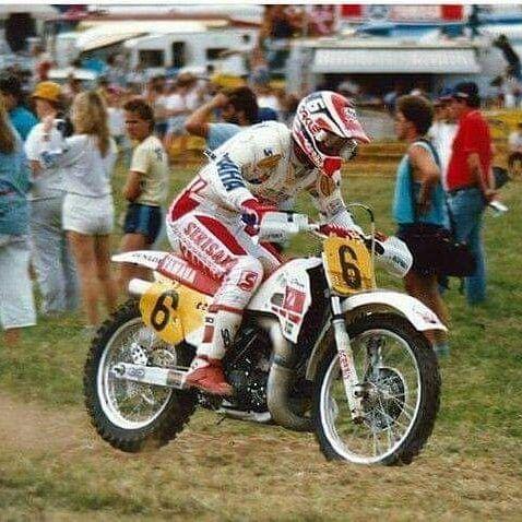 Next Quiz Leif Persson Yzm 500 1987 Vintage Motocross