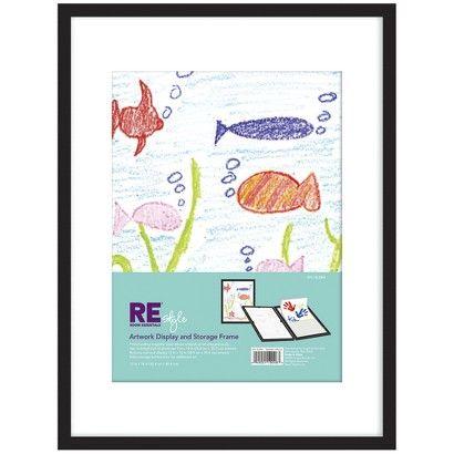 Room Essentials® Frame 12X16 Artwork Display Black