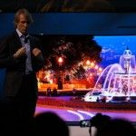 Samsung shows off 105-inch curved UHD TV and 85-inch bendable screen