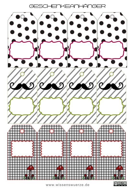 geschenkanh nger geschenkanh nger tags und kostenlose. Black Bedroom Furniture Sets. Home Design Ideas
