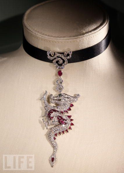 Cartier Dragon And Necklaces On Pinterest