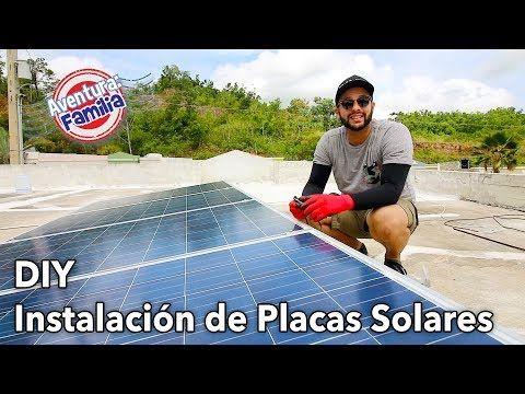 Mision Instalacion De Placas Solares Youtube Placas Solares Curso De Energia Solar Sistema De Energia Solar
