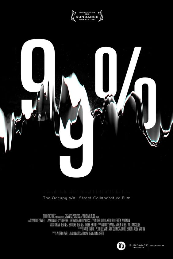 99%: The Occupy Wall Street Collaborative Film: Extra Large Movie Poster Image - Internet Movie Poster Awards Gallery