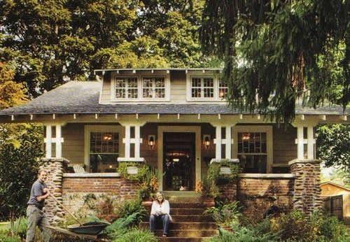 Craftsman Cottage--I could get down here
