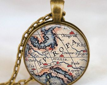 map jewelry- get your mission boundaries on it