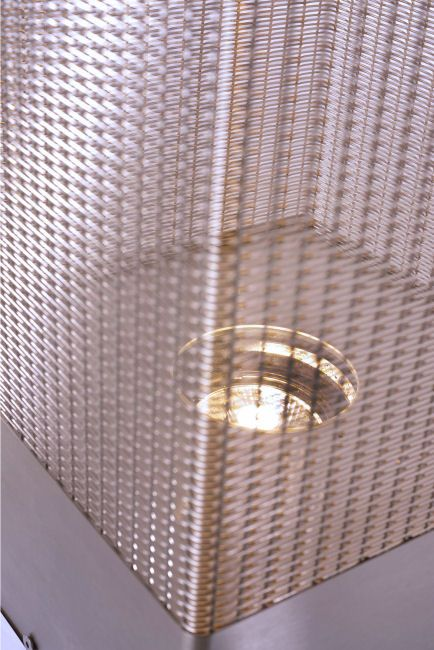 WAN INTERIORS PRODUCTS:: LUMENISK by Raguhner Metall Gewebe Manufaktur