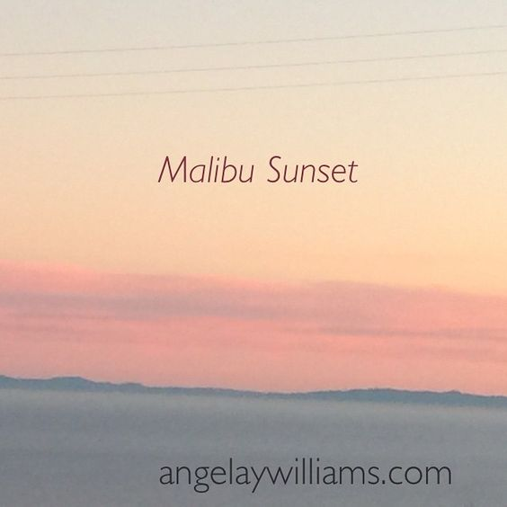 """Have a beautiful evening! Much Love & Joy ~ Angela xo #FirstInstagramPost #SunsetMeditation #Malibu"" Photo taken by @angelaywilliams on Instagram, pinned via the InstaPin iOS App! http://www.instapinapp.com (01/22/2015)"
