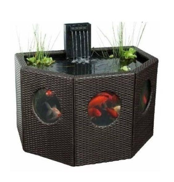 Freestanding Fish Pond Outdoors Pinterest Fish