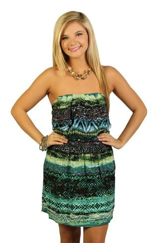 sweetheart abstract print #dress $26.50
