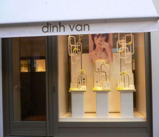 Boutique Dinh Van a Cannes