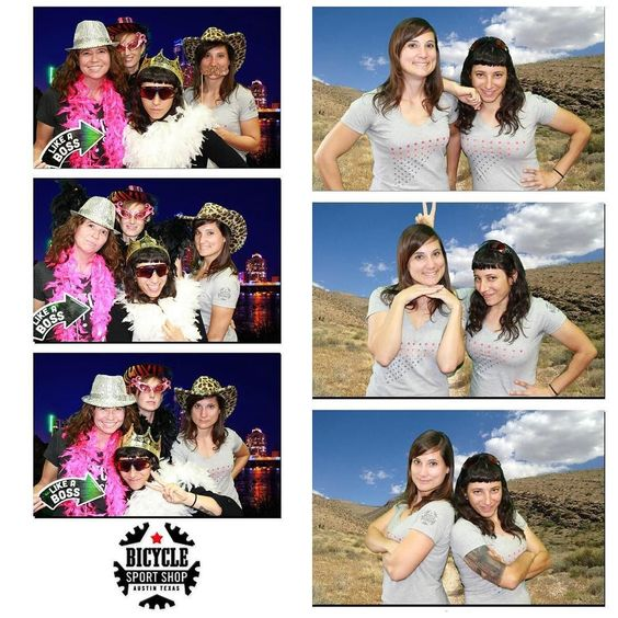 Ladies night at @bicyclesportshop tonight with some of the most kickass women I know! #photobooth #bicyclesportshop by bexcoh