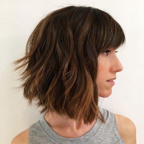 60 Messy Bob Hairstyles For Your Trendy Casual Looks Bob Frisur Haarschnitt Bob Haarschnitt Fur Dickes Haar