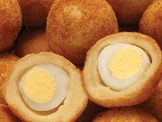 salgadinho de ovo de codorna