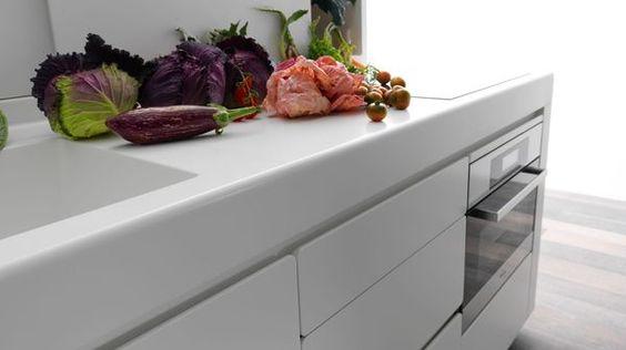 Fuori Salone Milano 2012: Cucina Alessi by Valcucine. Design by Wiel Arets #mdw2012: Lacucinaalessi Minimalissimo, Modern Kitchen Design, Arets Lacucina, Cabinets Alessi, Modern Kitchens, Arets Alessi, Design White