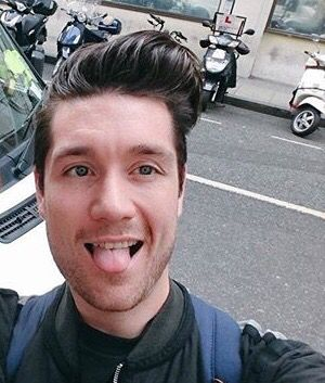 Dan Smith. Again with the tongue.