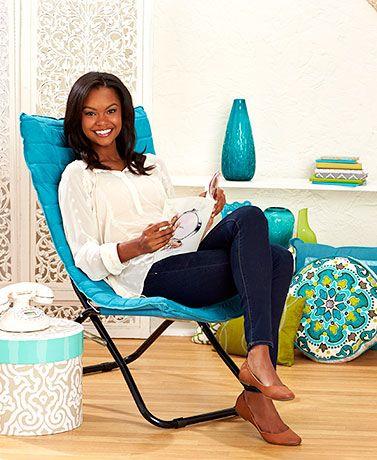 Cushioned Folding Lounge Chairs