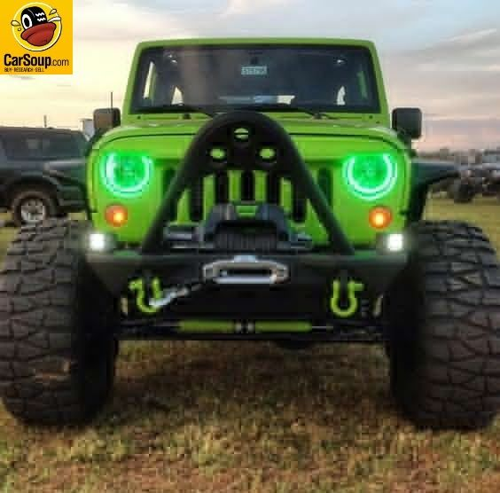 Jeep Freak Of The Day Green Jeep Wrangler Green Jeep