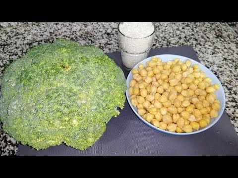 إلا عندك الحمص و البروكلي حضري بيهم اكلة رائعة سريعة التحضير ساخنة لهاد البرد Youtube Food Vegetables Corn