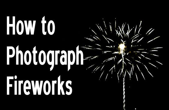 How to shoot firework