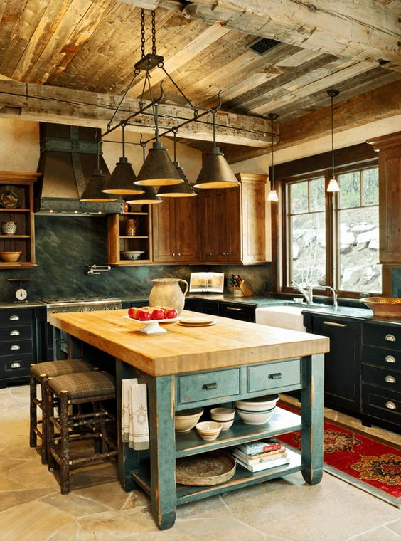 Looking for kitchen inspiration? Check out these 10 stunning kitchen designs with two toned cabinets!