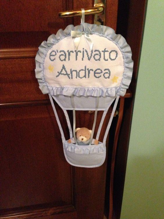 Fiocco mongolfiera Andrea