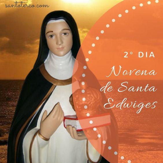 Hoje é o 5º dia da Novena de Santa Edwiges, padroeira dos pobres e endividados. Vamos orar juntos? Preparamos para você um eBook especial com a novena completa. Clique aqui e baixe o seu! #lojasantoterco #maria #novena #santa# edwiges #joias #acessorios #terço
