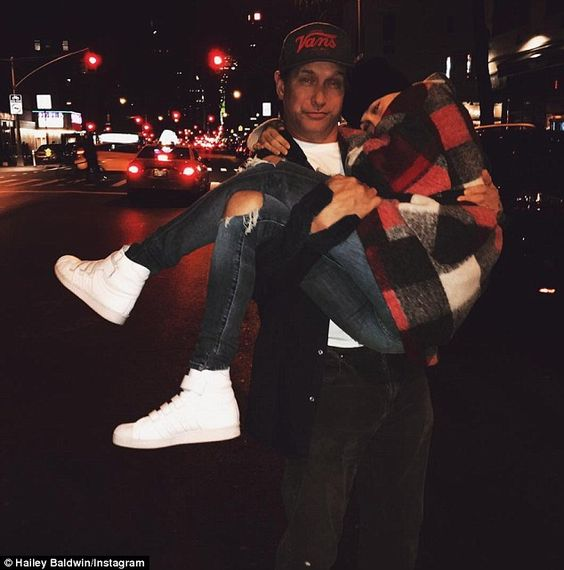 Famous father: Hailey also happens to be the nepotistically-privileged daughter…
