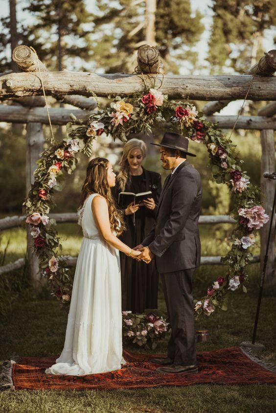 Destination cabin wedding el dorado national forest for Cabin wedding venues
