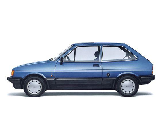 Ford Fiesta Ghia '1983–89