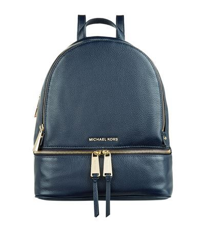 MICHAEL MICHAEL KORS Rhea Zip Backpack. #michaelmichaelkors #bags #leather #denim #backpacks #