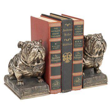 Design Toscano Inc Bulldog Mascot Bookends
