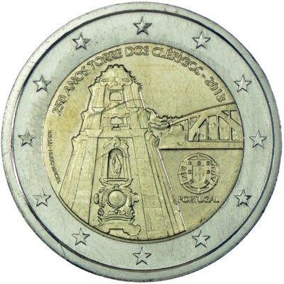 2 Euro CuNi 250 Jahre Kirchenturm von Porto UN