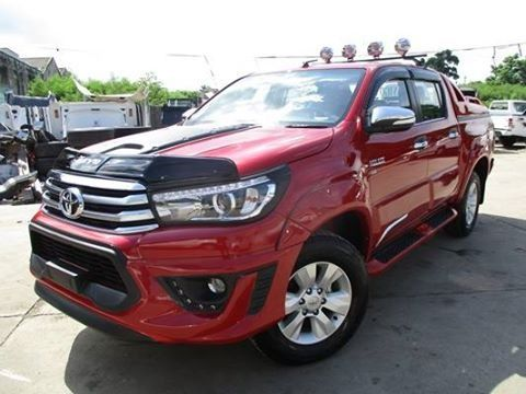 Toyota Hilux Revo Fully Optioned 2017 Toyota Toyota Hilux Cars