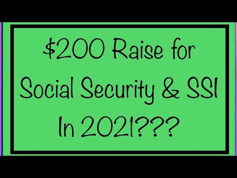 200 Raise For Social Security Ssi Va Benefits In 2021 Ssa Ssdi Ssi Va Youtube In 2021 Va Benefits Social Security Social