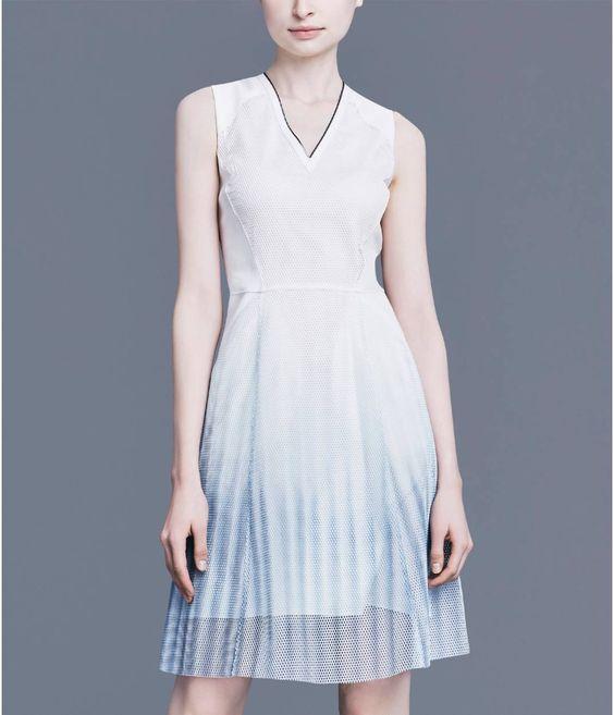 The mixed media Kemper dress.