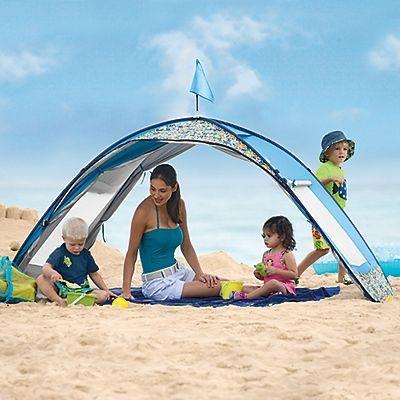 Sun Smarties Family Beach Cabana Tent - One Step Ahead Baby $79.00