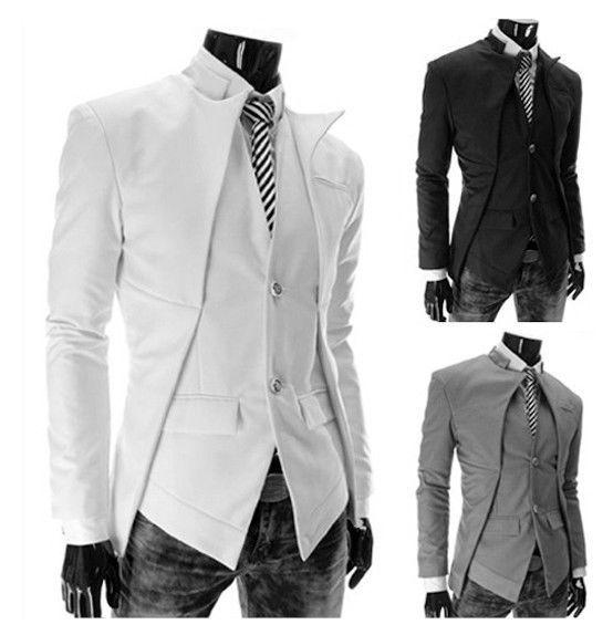 Hot long sleeve unique sport coat + vest US $39.99