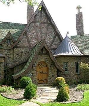 English cottages the doors and storybook cottage on pinterest for English stone cottage plans