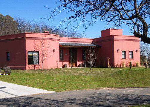 Detalle fachada para colonial pintura pinterest for Parrilla casa de campo