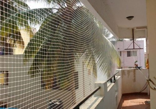 Pigeon Safety Net Installation For Balcony Online At Best Prices In Bangalore Mumbai Bird Netting Installation Bird Control