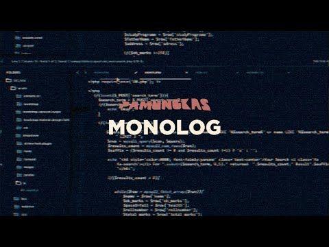 Pamungkas Monolog Lyrics Video Youtube Monologues Lyrics Writing
