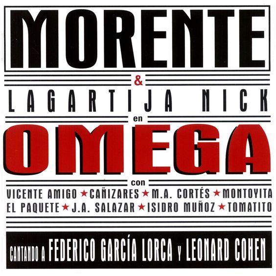 POrtada Omega Enrique Morente y Lagartija Nick