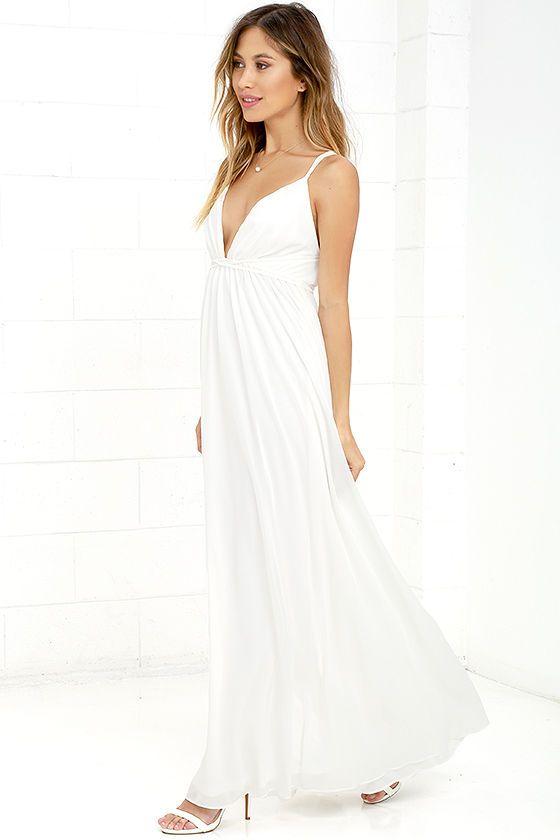 splendid u neck maxi dress short