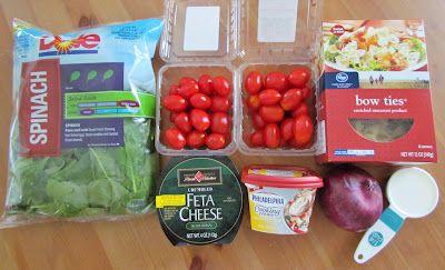 Creamy Mediterranean Pasta Salad   Mediterranean Pasta, Mediterranean ...