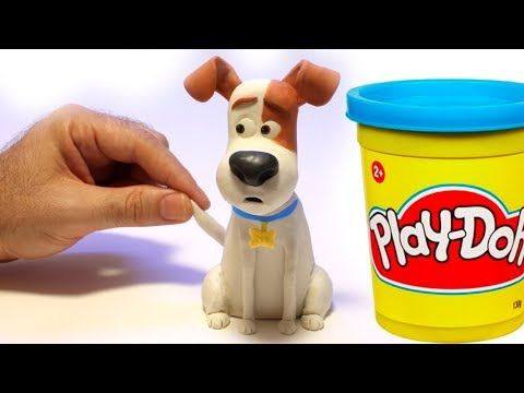Max From The Secret Life Of Pets Movie Stop Motion Play Doh Clay