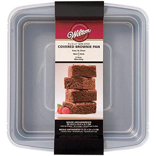 Wilton 2105 9199 Recipe Right Non Stick 9 Inch X 9 Inch Sqaure