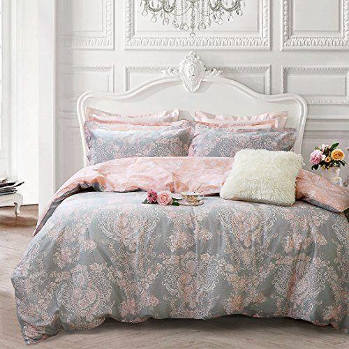 Brandream Blush Pink Girls Bedding Set 100 Cotton Zipper Https Www Amazon Com Dp B07dg3d3jj Ref Cm Sw R P Bedding Sets Pink And Grey Bedding Pink Bedding